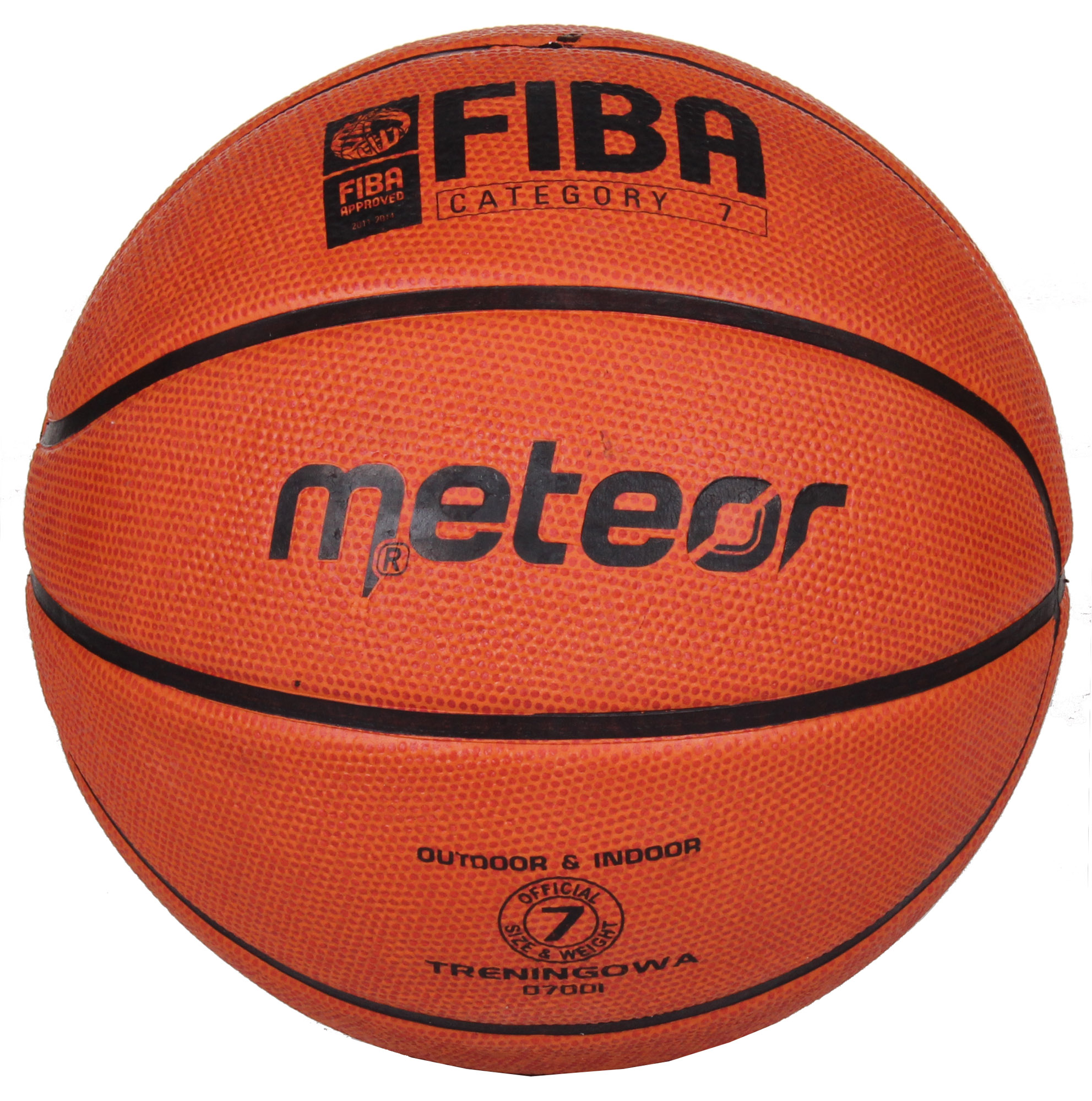 Basketbalová lopta Meteor Training FIBA